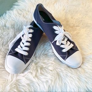 """🗣 NWOT """"Navy Blue ChucksStyle Sneakers byMossimo"""""""